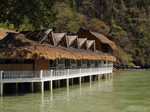 10. Miniloc Island - Seaview Room Facade