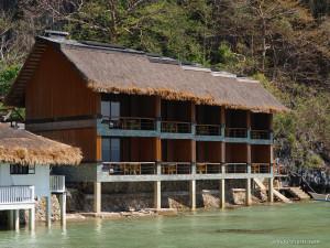 12. Miniloc Island - Deluxe Seaview Facade