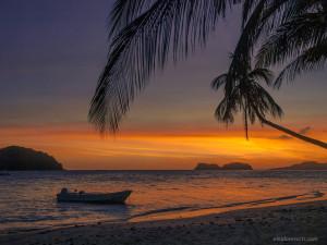25. Pangulasian Island - Sunset View from Beach