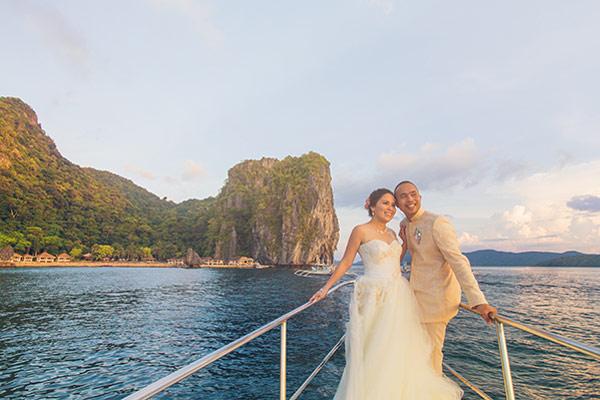El nido lagen wedding