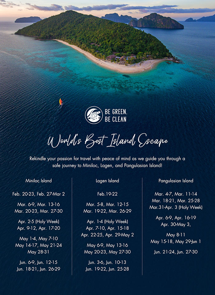 World's Best Island Escape promo January June 2021