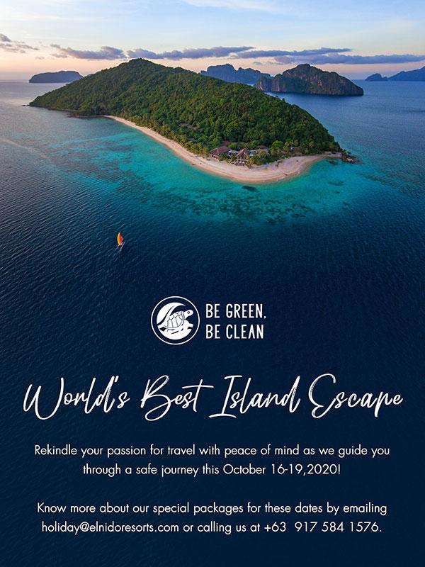 World's Best Island Escape promo